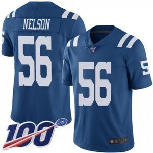 Colts Quenton Nelson 100th Season Jersey